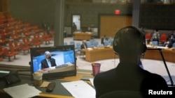 سلامتی کونسل میں افغانستان پر بریفنگ دی جا رہی ہے۔