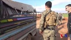 Turkiya-Suriya chegarasidagi vaziyat