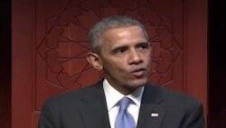 Rais Obama atembelea mskiti Marekani