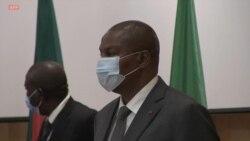 Angola: minute silence en mémoire du président Déby au sommet sur la crise centrafricaine