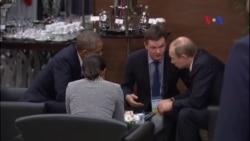 TT Hoa Kỳ và TT Nga đồng ý về cuộc chuyển tiếp ở Syria