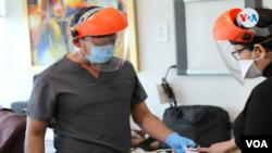 Decenas de médicos resultaron afectados por el coronavirus en Nicaragua. Foto Houston Castillo, VOA.