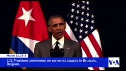 Obama Condemns Belgium Attacks
