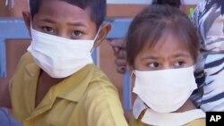萨摩亚麻疹流行,大中小学关闭。(美联社)