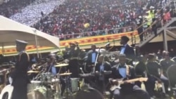 Zimbabwe Police Band Entertains Crowd at 37th Independence Anniversary