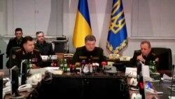 2015-02-15 美國之音視頻新聞: 烏克蘭指停火後親俄武裝依然有炮擊