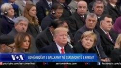 Udhëheqësit e Ballkanit në ceremonitë e Parisit
