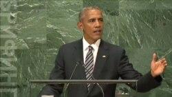 Выступая на Генассамблее ООН, Барак Обама подверг критике Россию