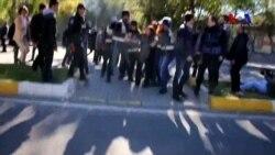 HDP Protestosuna Müdahale