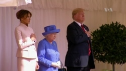 Trump: gala y protestas en Reino Unido