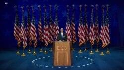 拜登接受民主党总统候选人提名 批评特朗普对新冠疫情的处理