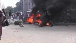 Ayiti: Manifestasyon vyolan kont bidjè 2017-2018 la nan Pòtoprens