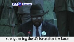 VOA60 Africa - Kiir Weighs Response as UN Security Council Votes to Send Troops to S. Sudan