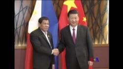 2017-11-12 美國之音視頻新聞: 中菲領導人峴港會晤談南中國海問題 (粵語)
