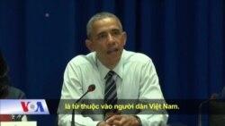 Nhiều thành viên trong xã hội dân sự VN không được gặp TT Obama