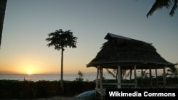 A sunrise on Samoa, an island republic of just over 200,000 people where China's diplomatic and strategic expansion into the South Pacific appears to have stalled.