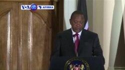 VOA60 AFIRKA: KENYA Shugaba Uhuru Kenyatta Da Firai Ministan Japan Shinzo Abe, Sun Rattaba Hanu a Wata Yarjejeniyar