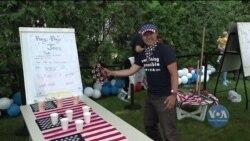 В Україні відсвяткували день незалежності США. Відео