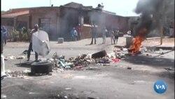 Protestos violentos na África do Sul