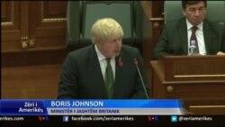 Ministri i Jashtëm britanik, Boris Johnson, në Prishtinë