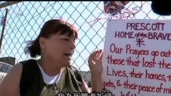 2013-07-03 美國之音視頻新聞: 消防員繼續扑救亞利桑那州山火