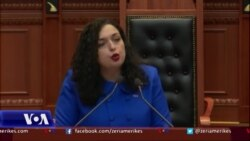 Vjosa Osmani flet në parlamentin shqiptar