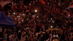 Hong Kong Protest Leaders Recall Spiritual Motivation