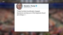 Trump akosoa uamuzi wa Mahakama ya Juu kuhusu vijana wahamiaji