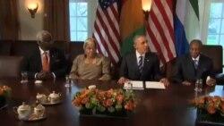 آمریکا وعده کمک های بیشتری برای مبارزه با بیماری ابولا داد