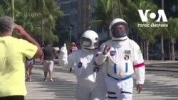 Скафандр - космічний захист від коронавірусу в Бразилії. Відео