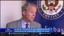 Interviste me ambasadorin amerikan Greg Delawei
