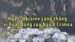 Nga - Ukraine căng thẳng vì hoạt động của Nga ở Crimea