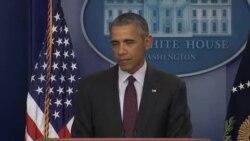 اوباما از مردم آمریکا خواست به کنگره درمورد قانون کنترل اسلحه فشار بیاورند
