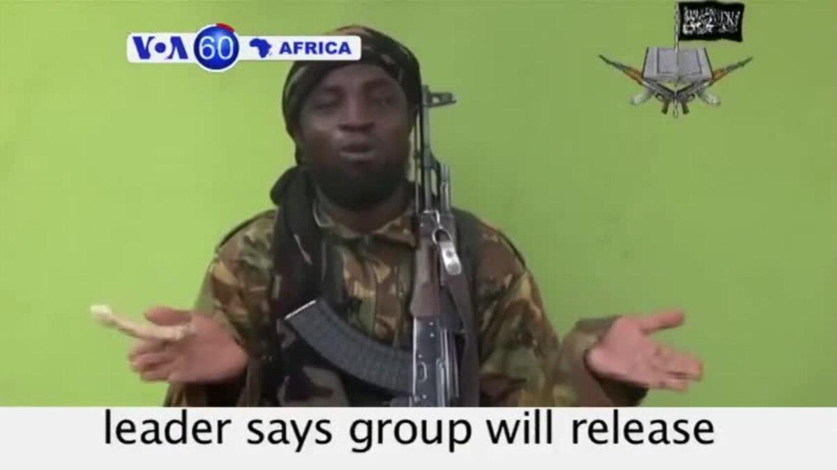 VOA60 Afirka: Abubakar Shekau, Najeriya, Mayu 12, 2014