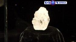 Manchetes Africanas 5 Maio: Diamante do Bostwana pode custar pelo menos $70 milhões