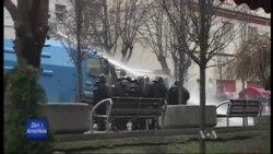 Protesta të dhunshme në Prishtinë