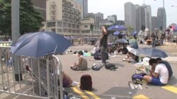 Hong Kong Protesters Threaten to Seize Buildings