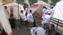 雅安地震已有两千次余震,灾民渴望重建家园