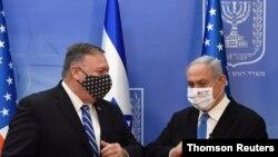 U.S. Secretary of State Pompeo meets with Israeli Prime Minister Netanyahu in Jerusalem