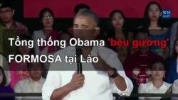 TT Obama: Formosa 'không phải là mô hình phát triển bền vững'