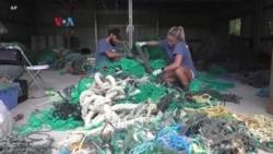 """Deteksi """"Jaring Hantu"""" untuk Tentukan Asal Sampah Laut"""