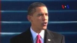 Obama İkinci Dönemine Yemin Ederek Başlıyor