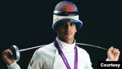 Imagen del esgrimista venezolano Rubén Limardo tomada de su perfil profesional en Facebook. Limardo ganó la medalla de oro en los juegos olímpicos de Londres 2012.