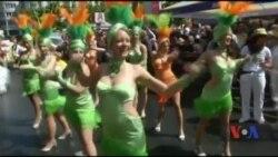 На Карнавалі Культур в Німеччині представлені 75 національностей. Відео