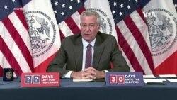 紐約市長從週三開始封鎖新冠病毒熱點地區