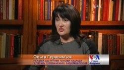 Ольга Герасим'юк: з ефіру треба прибрати твори, які є знаряддям пропаганди. Відео.