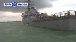 Chiến hạm Mỹ gặp nạn, 10 thuỷ thủ mất tích