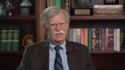 博爾頓在美國之音採訪中稱特朗普反覆無常和危險