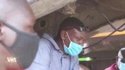 Covid-19 : des camionneurs en difficulté en Afrique de l'est