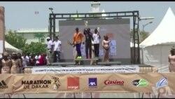 Le marathon de Dakar (vidéo)